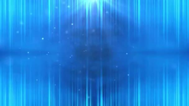 Krásné smyčky modré pozadí