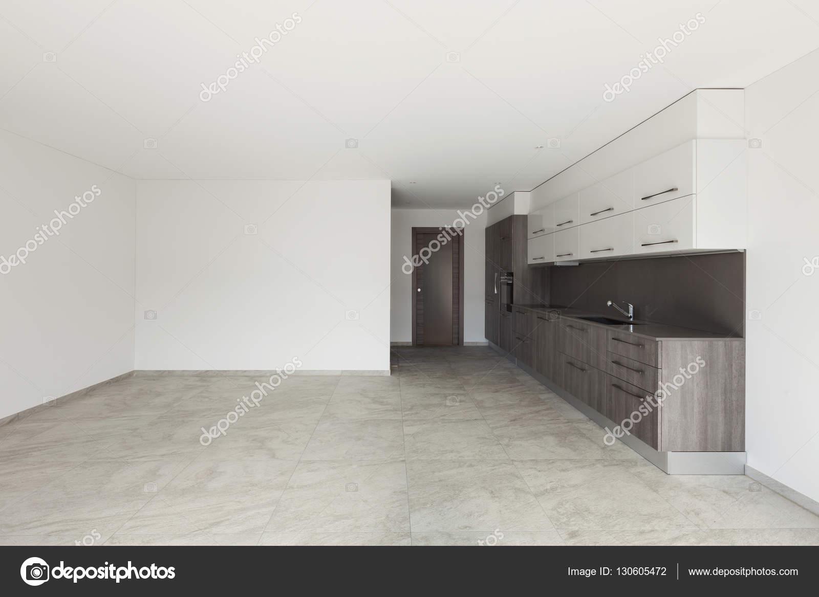 Interior Ampla Sala Com Cozinha Stock Photo Zveiger 130605472