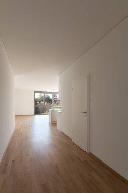 corridor in empty apartment
