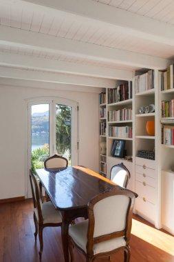 Dining room of a loft