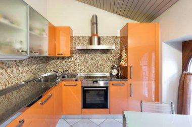 Interior of a home, domestic kitchen