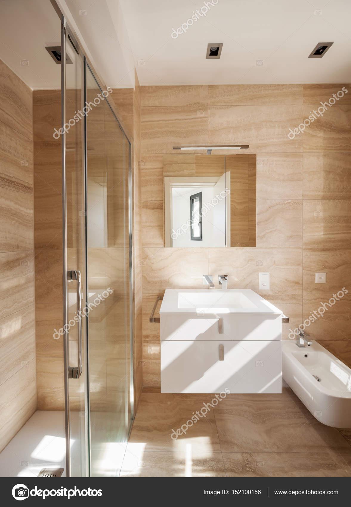 Magnifique Salle De Bain En Marbre Photographie Zveiger