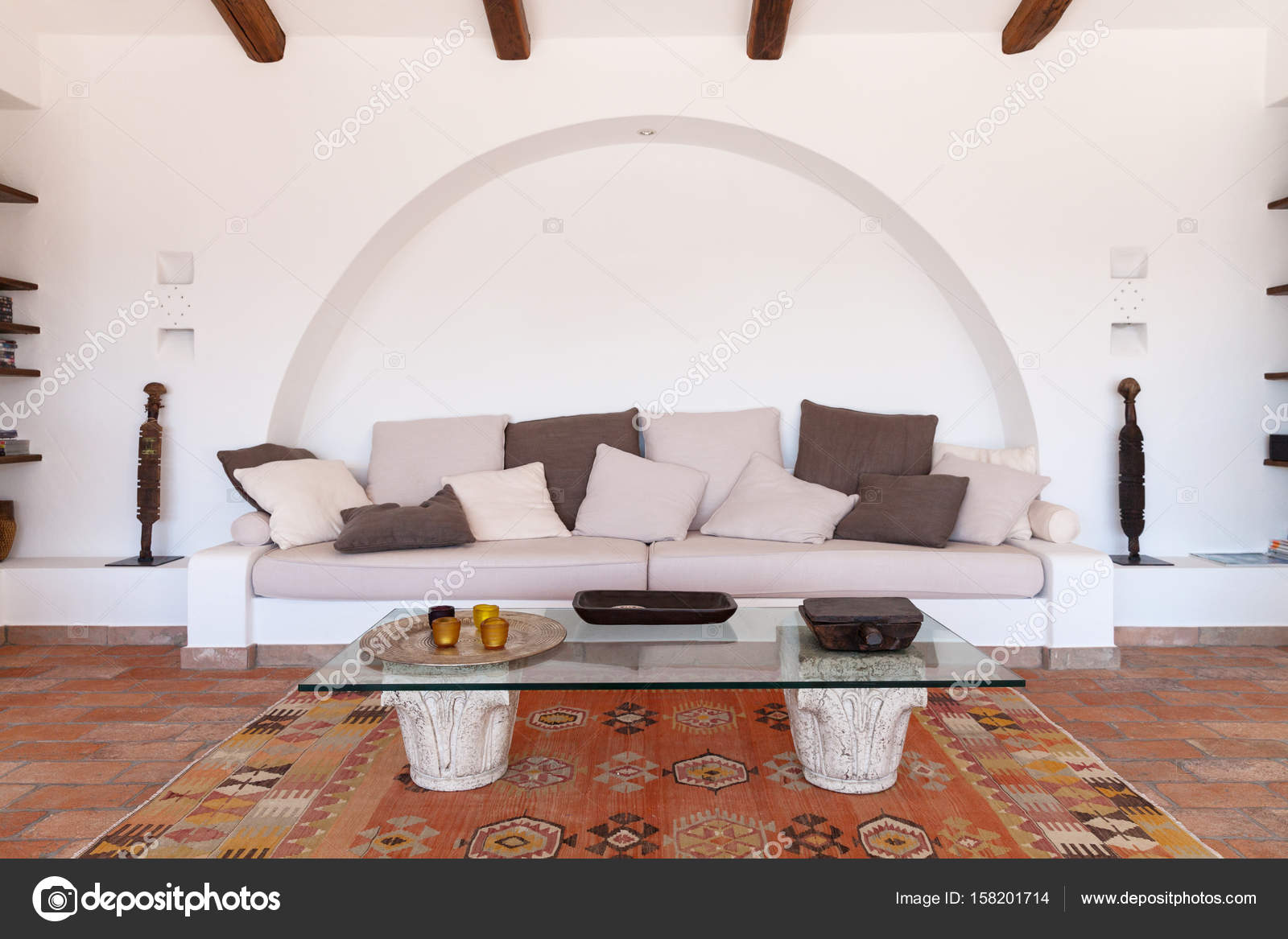 Furnish living room — Stock Photo © Zveiger #158201714
