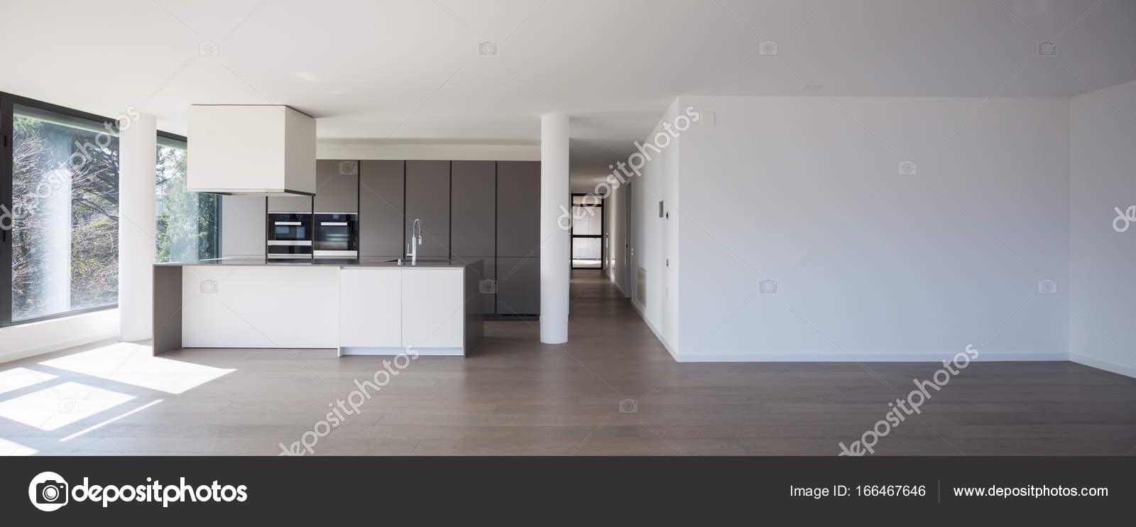 Cozinha Da Ilha Em Uma Ampla Sala Stock Photo Zveiger 166467646