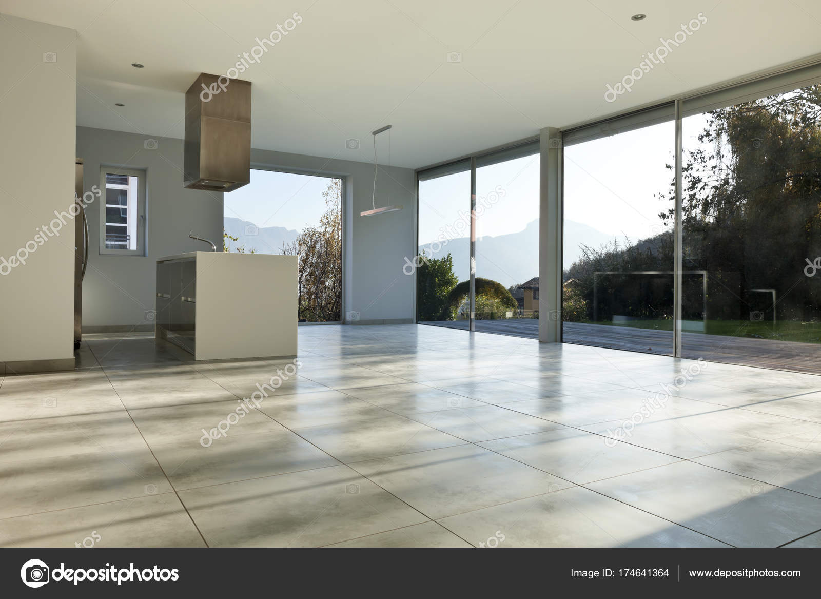 Modernes Haus Innenräume, niemand — Stockfoto © Zveiger #174641364