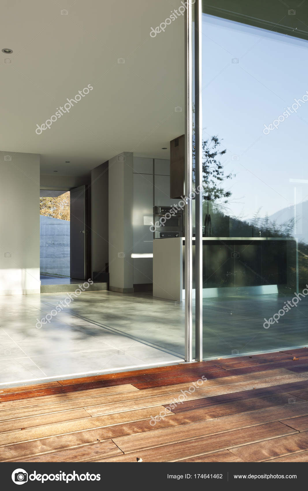 Modernes Haus Innenräume, niemand — Stockfoto © Zveiger #174641462