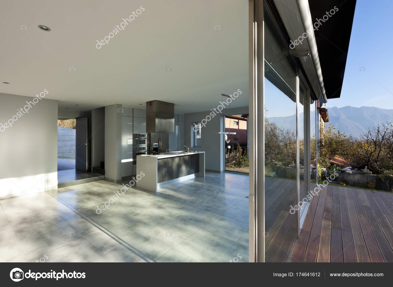 Modernes Haus Innenräume, niemand — Stockfoto © Zveiger #174641612