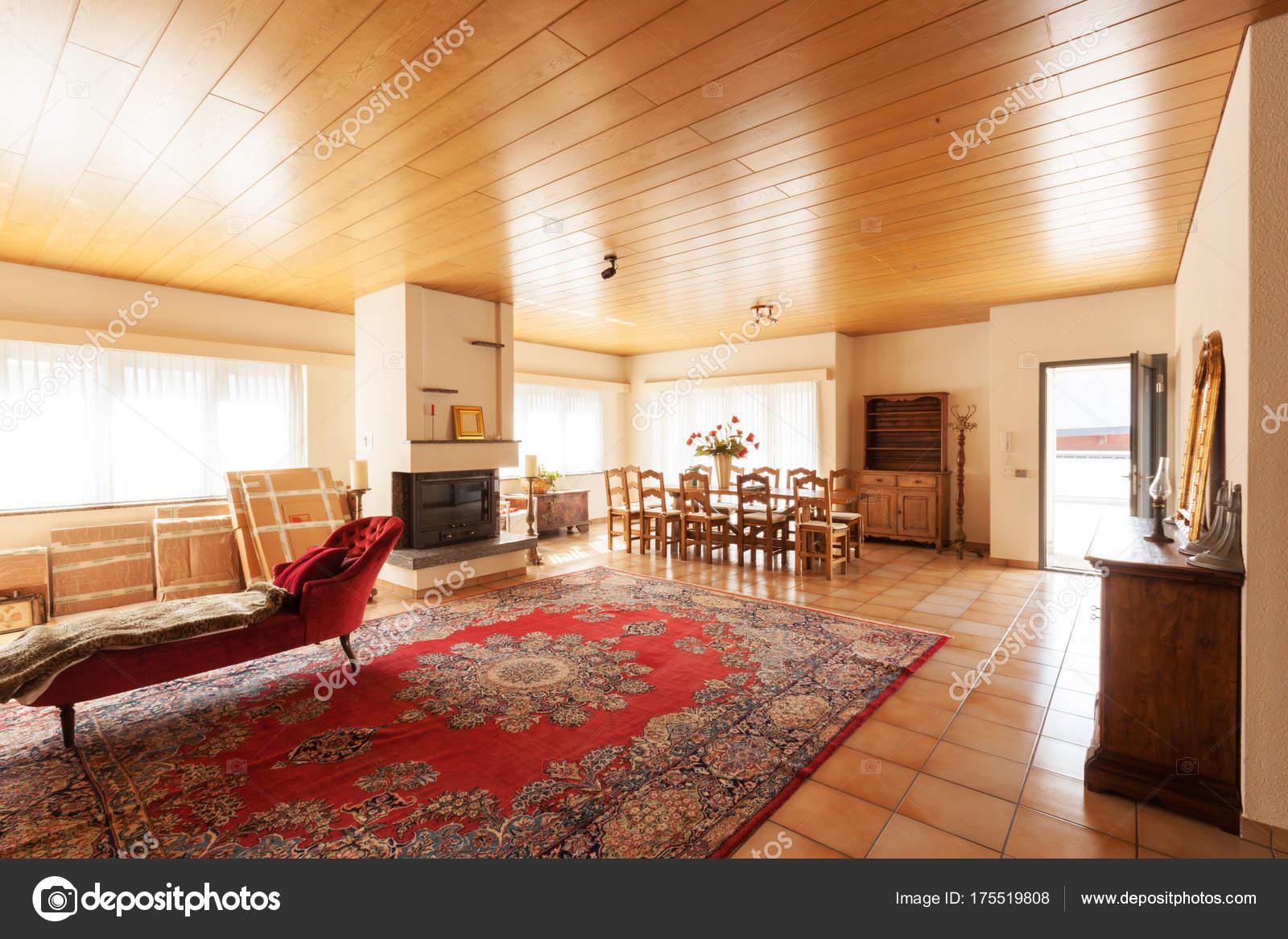 modernes Haus Innenraum, Wohnzimmer — Stockfoto © Zveiger #175519808