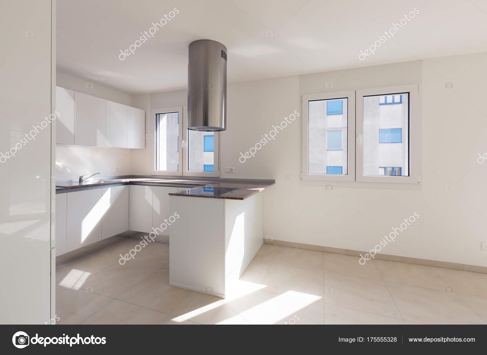 Modernes Apartment, leere Räume, Küche — Stockfoto © Zveiger #175555328