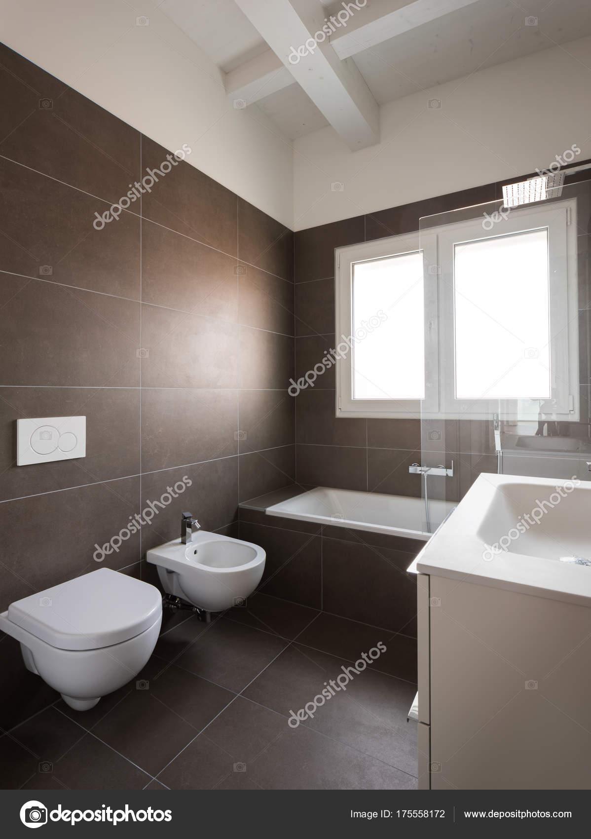 Nowoczesne łazienki Wnętrza Nikt Nie Zdjęcie Stockowe Zveiger