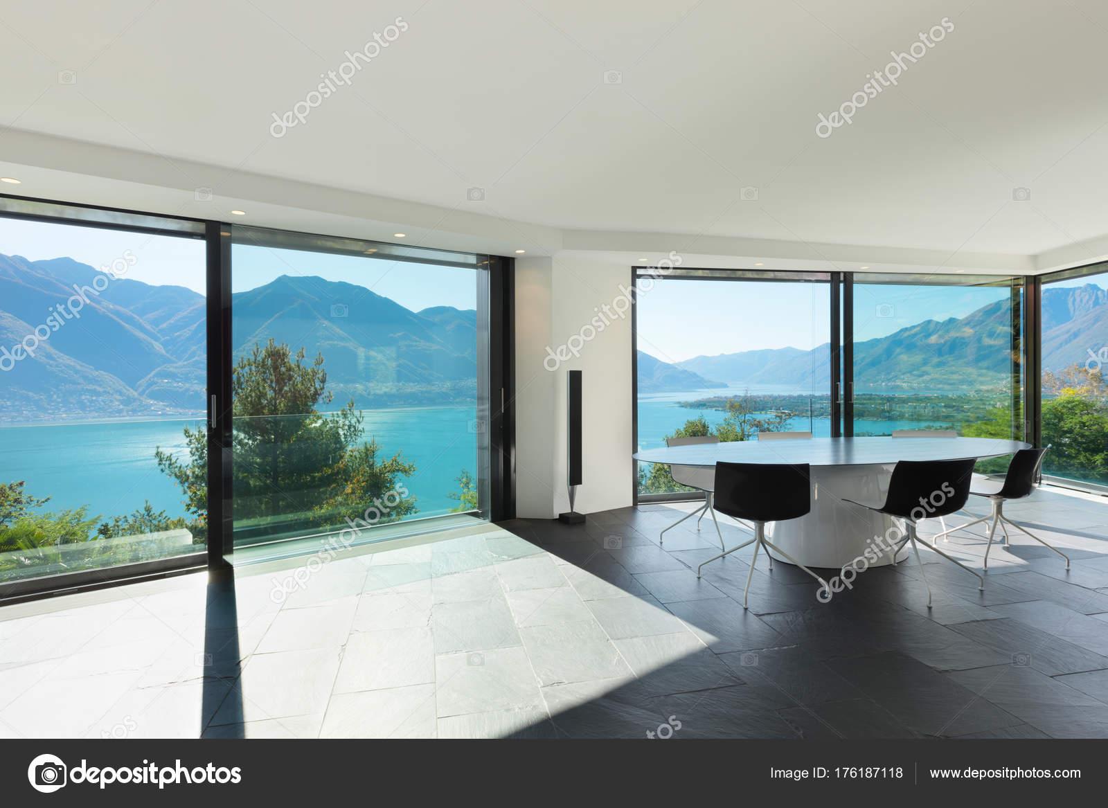 Interieur moderne huis eetkamer u2014 stockfoto © zveiger #176187118