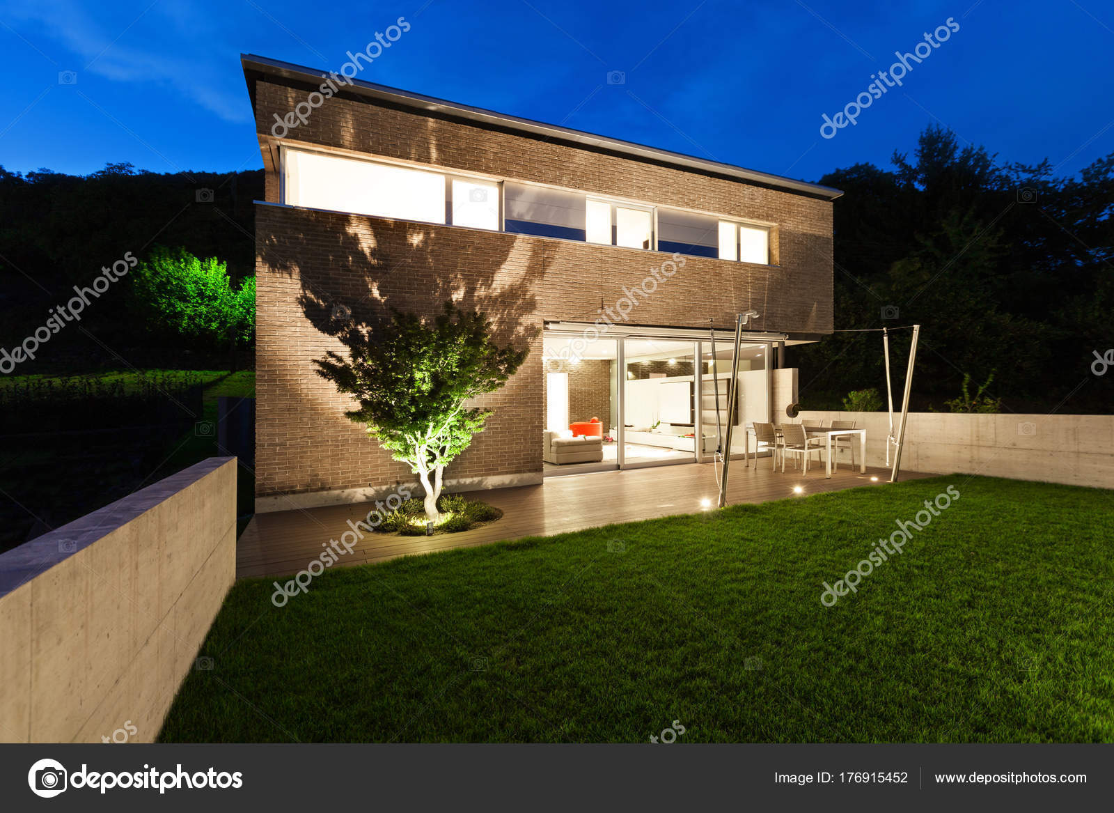Architektur, modernes Design, Haus, im freien — Stockfoto © Zveiger ...