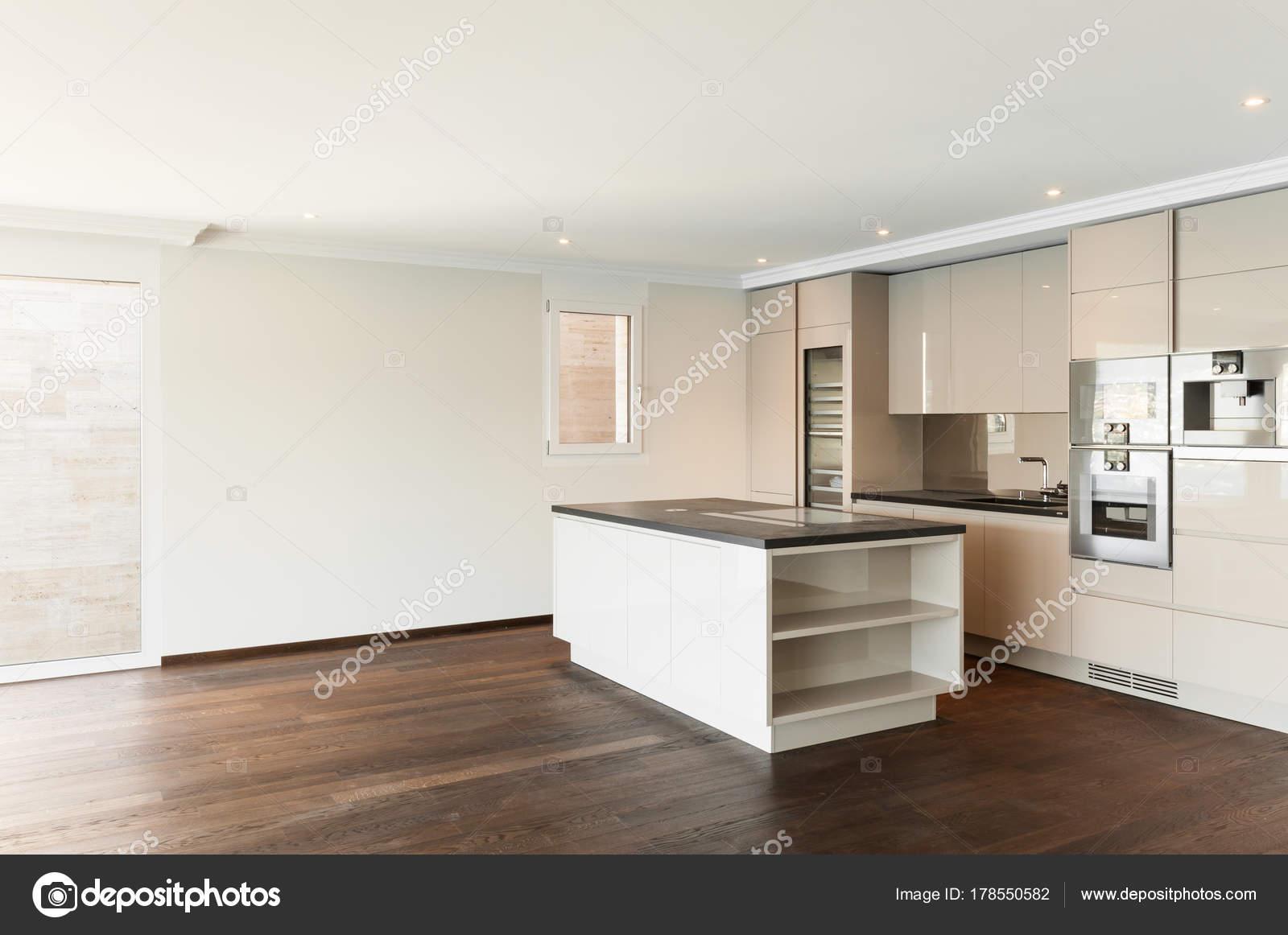 Schönes Haus, moderne Küche — Stockfoto © Zveiger #178550582