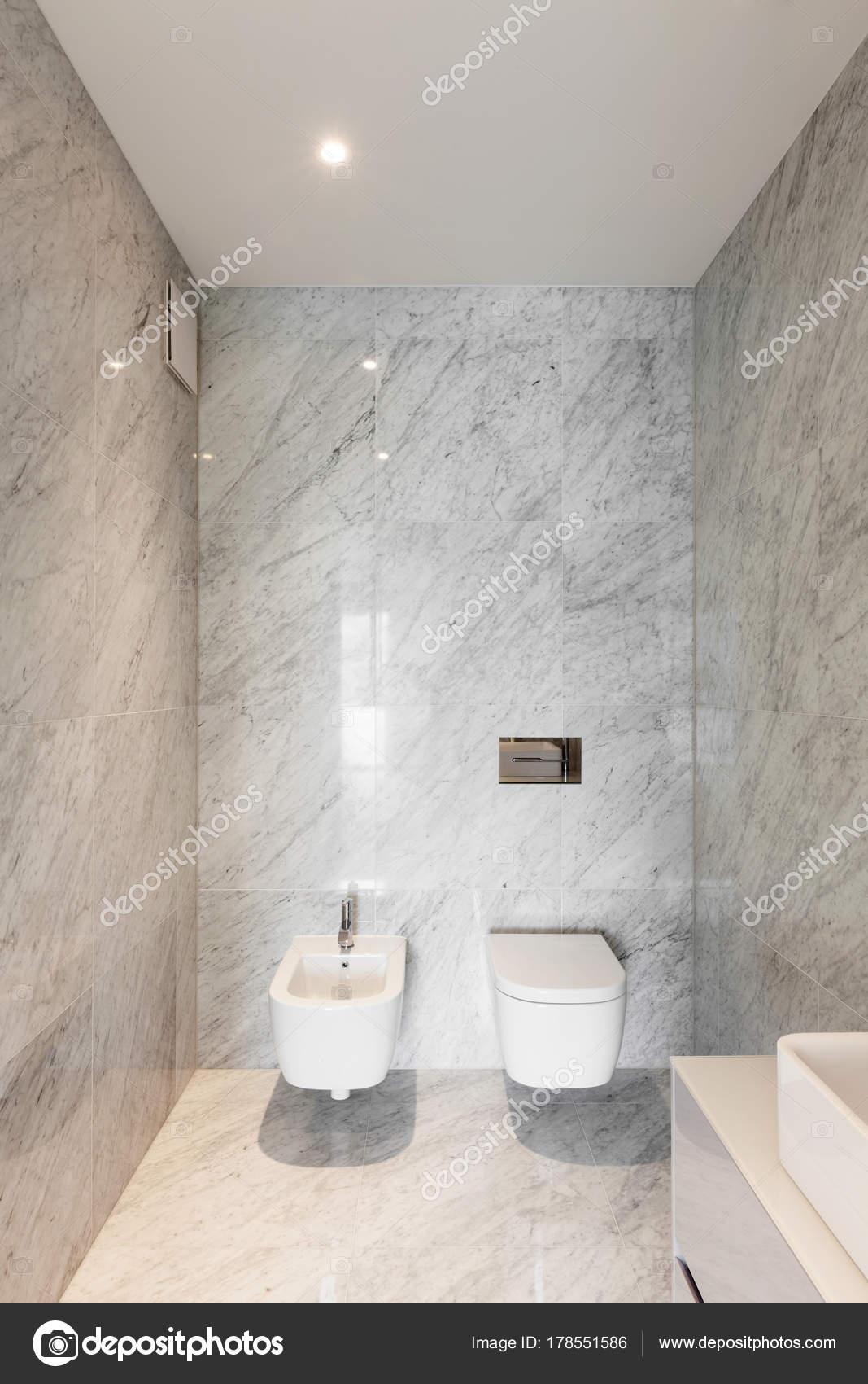 Prachtige badkamer marmer — Stockfoto © Zveiger #178551586