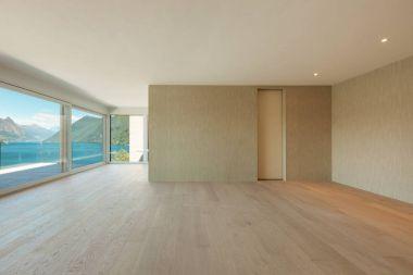beautiful modern house, interior
