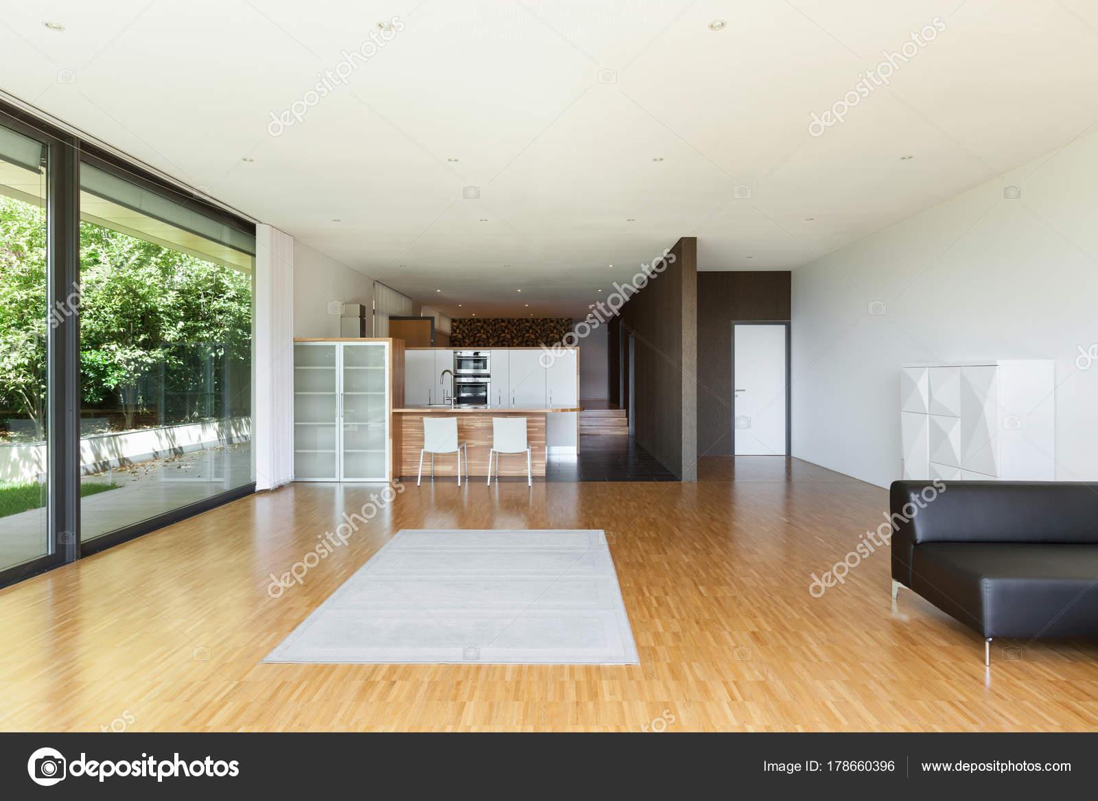 Haus, großes Wohnzimmer — Stockfoto © Zveiger #178660396