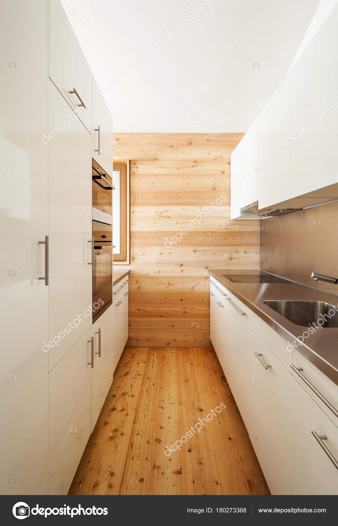 Architettura Design Moderno Casa Montagna Cucina — Foto ...