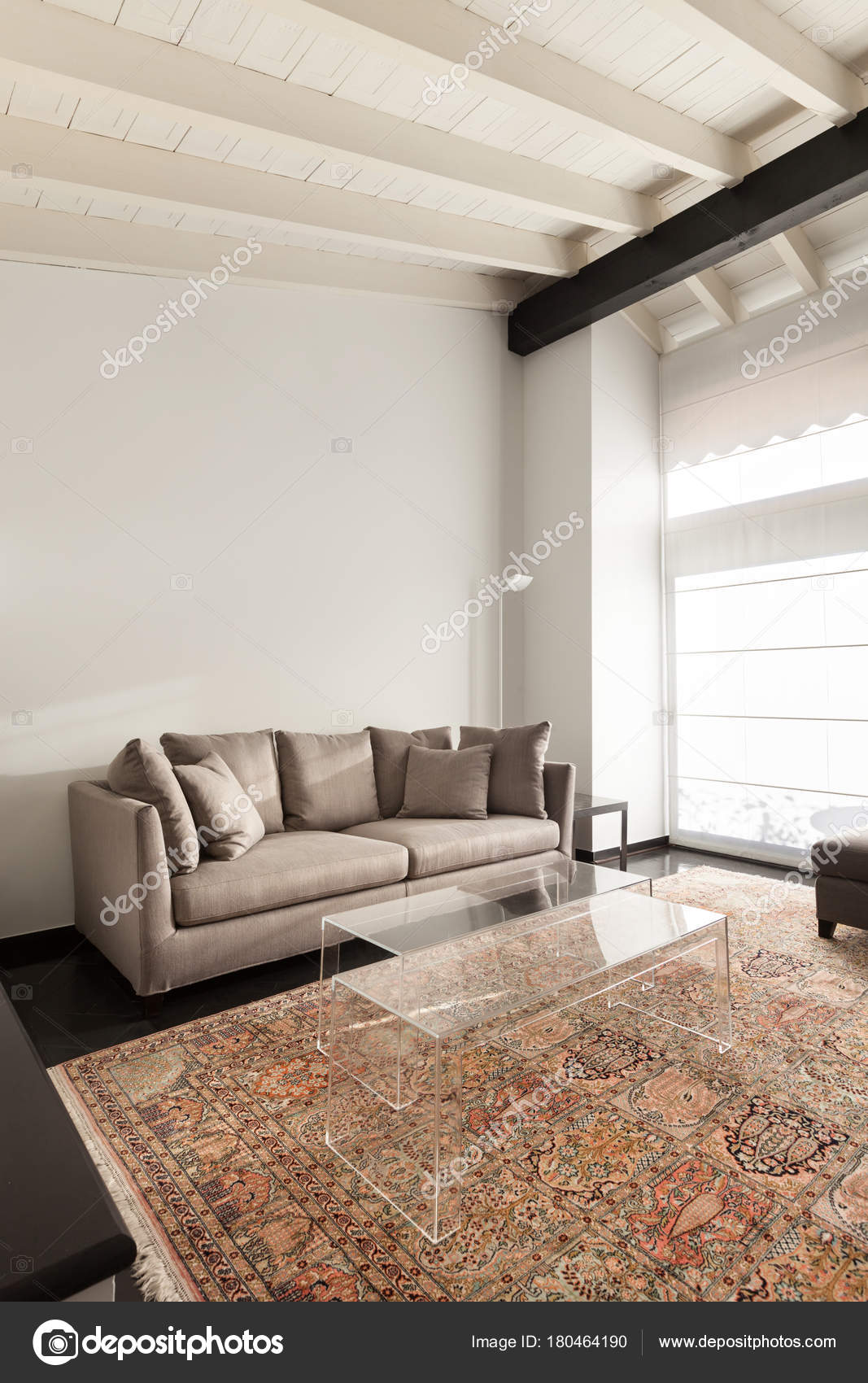 Interieur Komfortables Loft Moderne Möbel Wohnzimmer ...