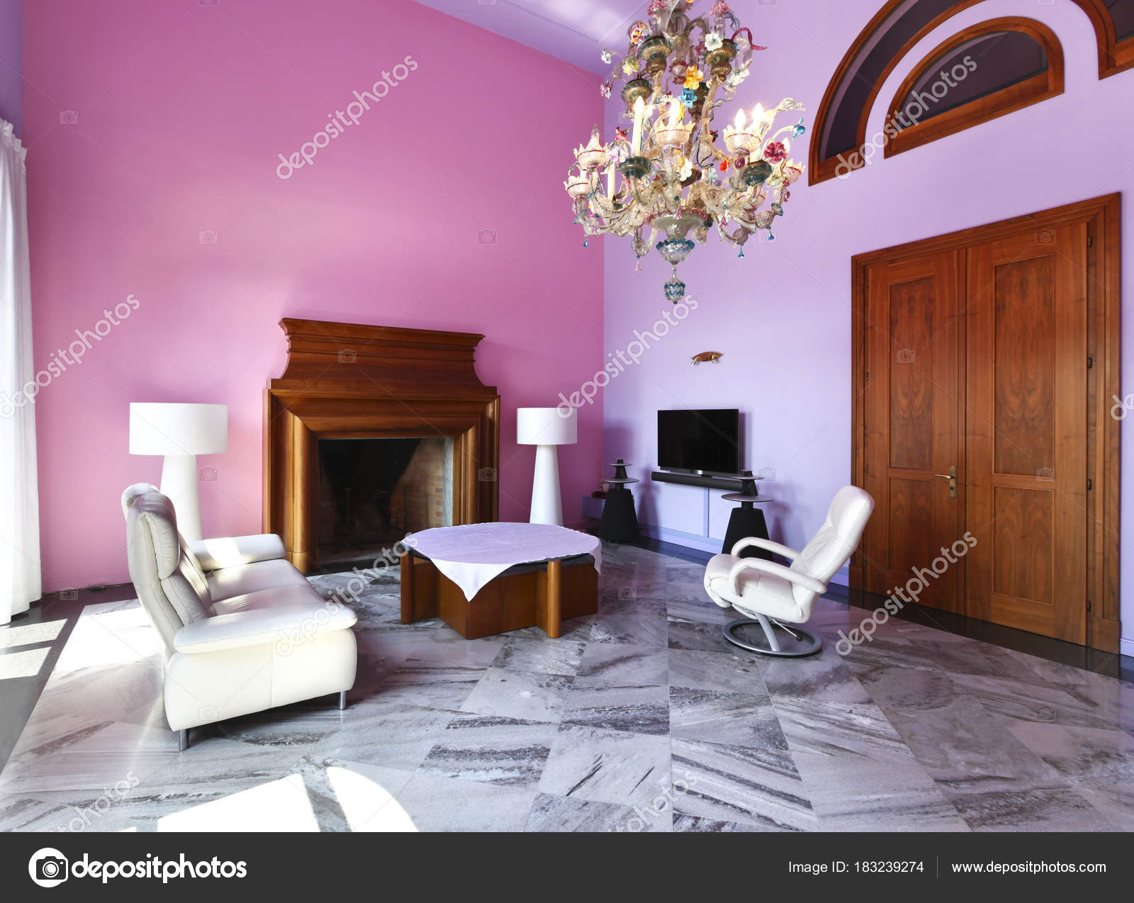 Vista di casa interni di lusso foto stock zveiger 183239274 - Foto case di lusso interni ...