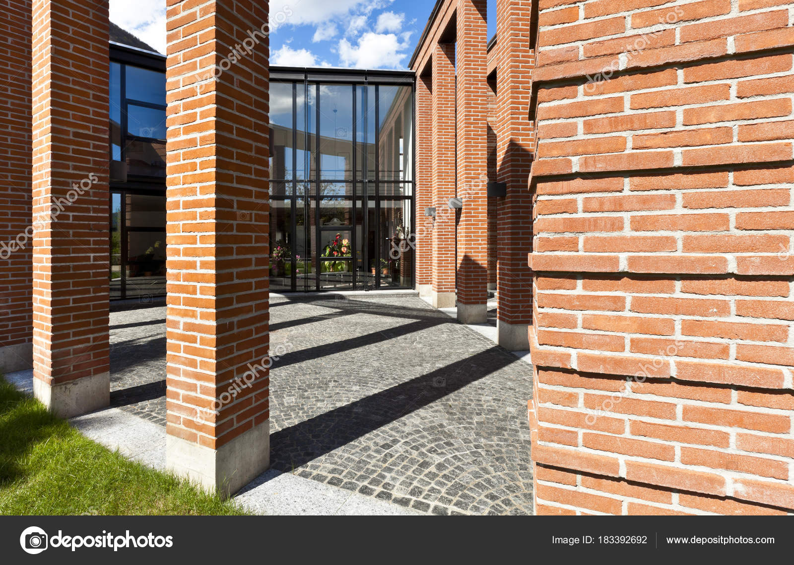 Outdoor Architektur, Modernes Haus U2014 Stockfoto