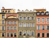 Fotografie Häuser-Funktionen in Warschau