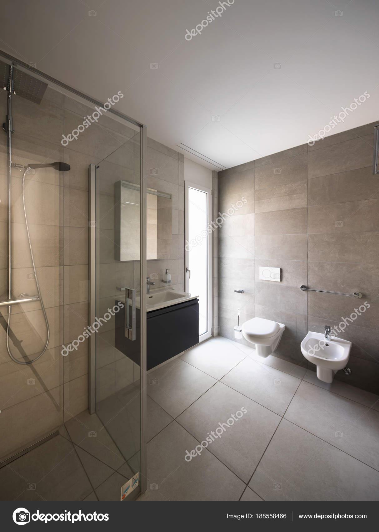 Modernes Bad Mit Marmor In Einer Modernen Wohnung U2014 Stockfoto