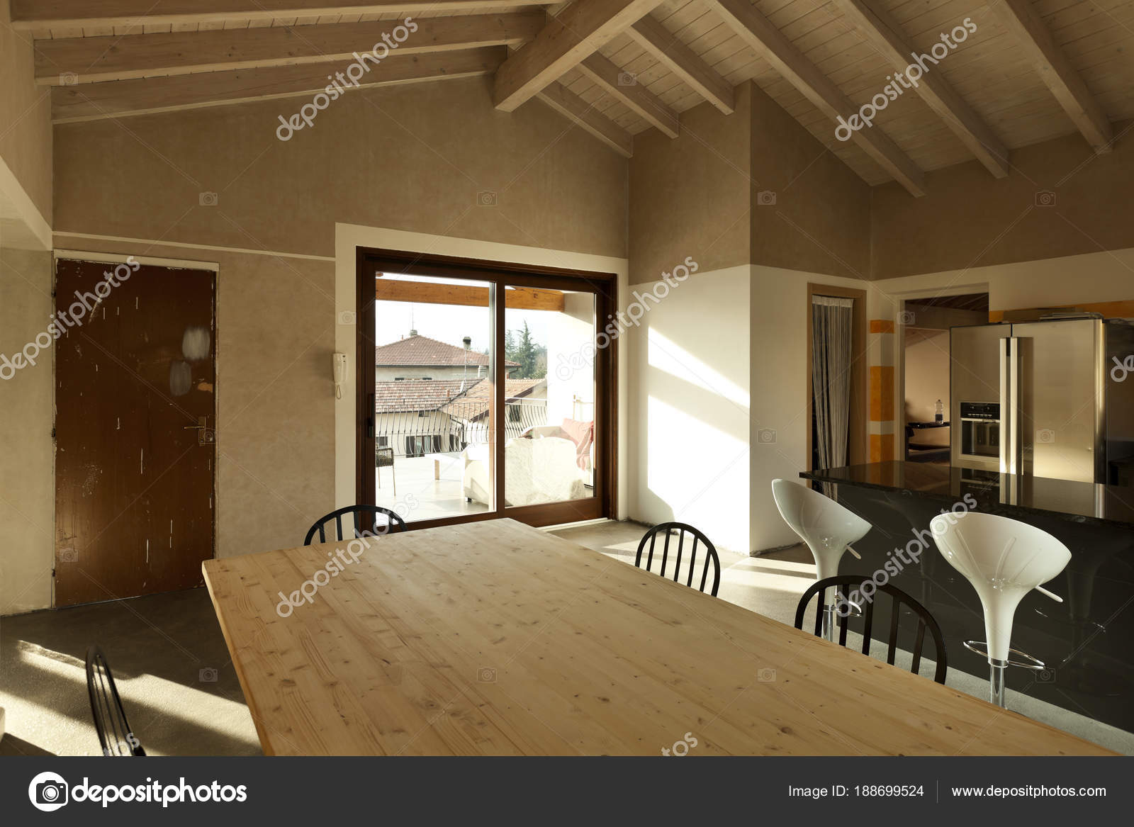Interieur huis u stockfoto zveiger