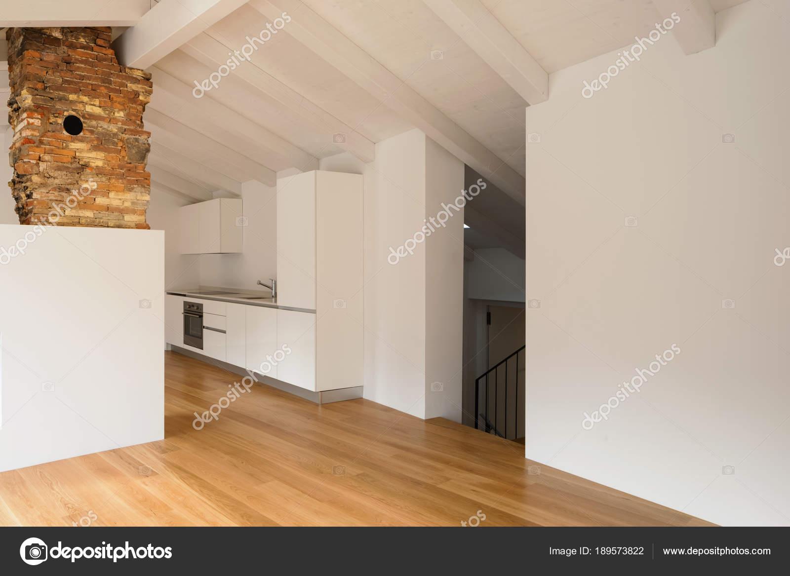 Salon Moderne Avec Foyer Au Milieu Photographie Zveiger C 189573822