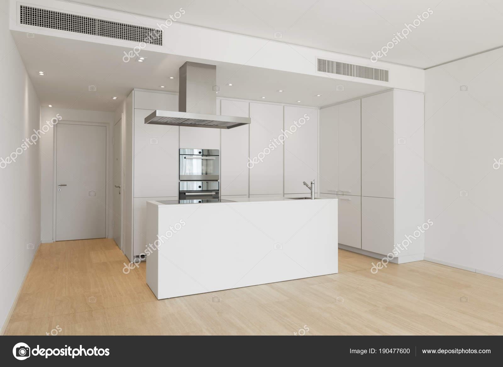 Grande Cozinha Com Ilha Fotografias De Stock Zveiger 190477600