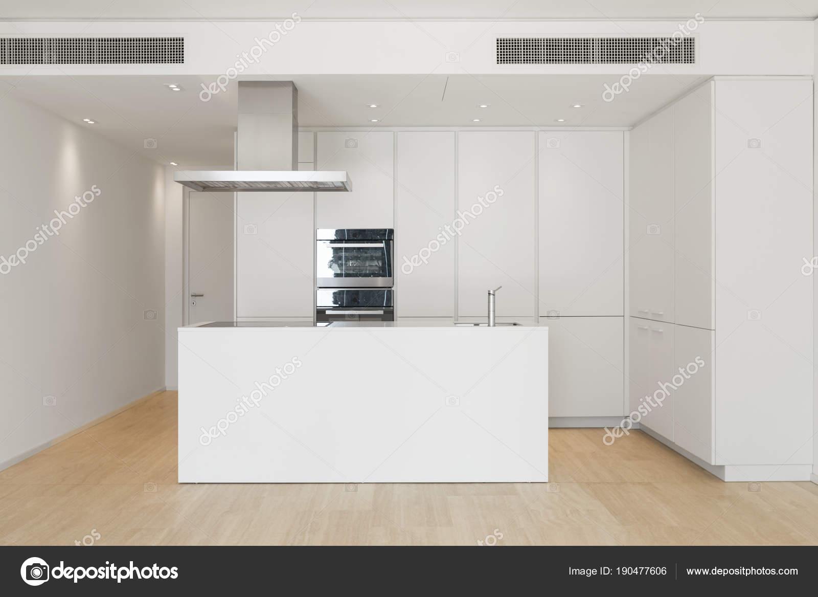 Grande Cozinha Com Ilha Stock Photo Zveiger 190477606