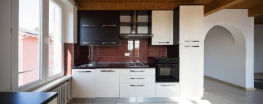 Interior of house, kitchen