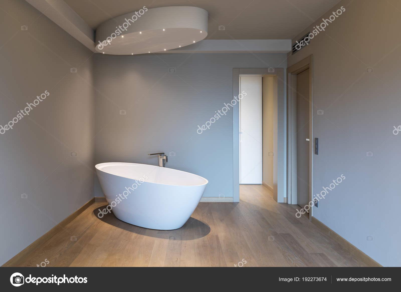 Vasca Da Bagno In Camera : Moderna camera da letto con vasca da bagno appartamento di lusso