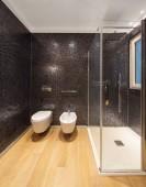 Fotografie Luxusní koupelna v moderním bytě
