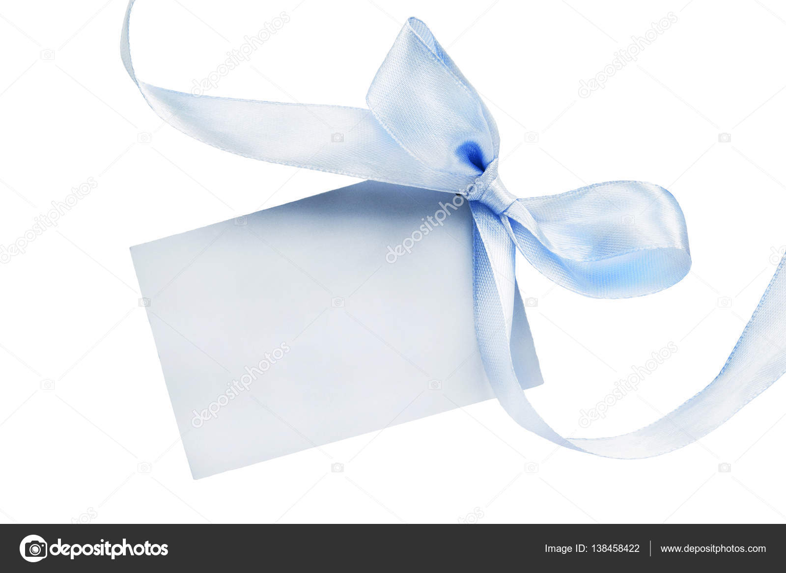 Blank Greeting Card Stock Photo Tarzhanova 138458422
