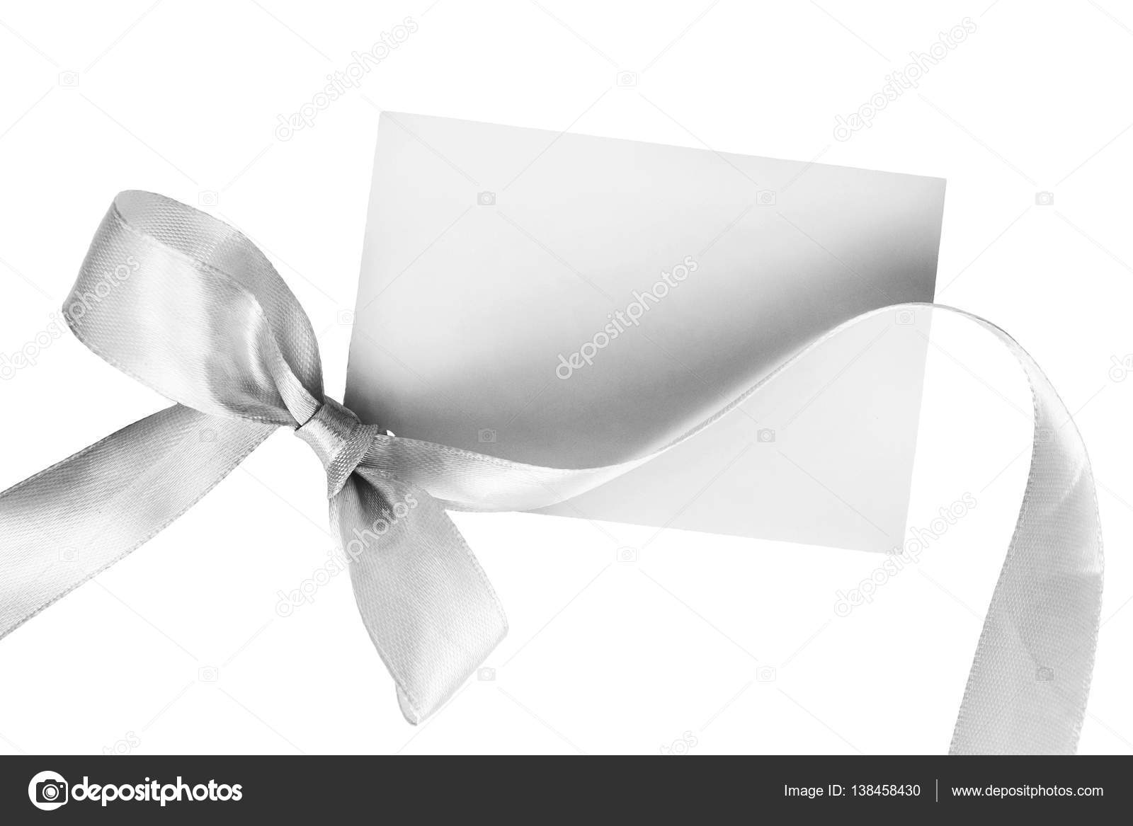 Blank Greetings Card Stock Photo Tarzhanova 138458430