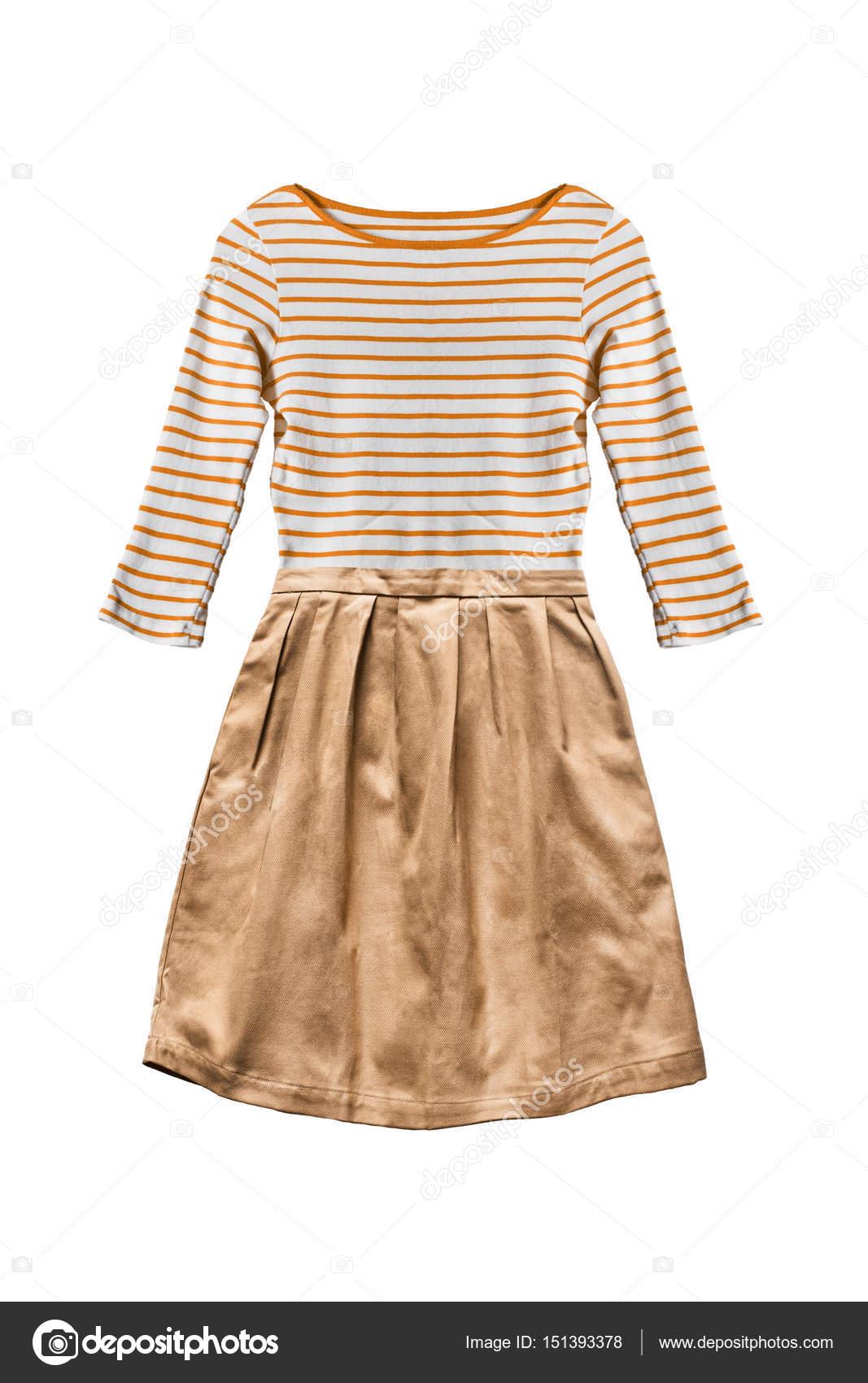 Жовте плаття ізольовані — Стокове фото — колір © Tarzhanova  151393378 d3afa4da57c33