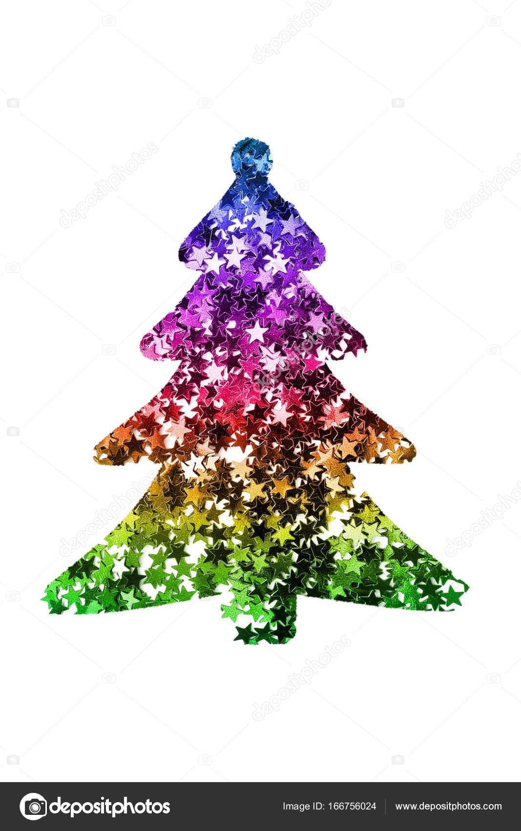 Immagini Glitterate Di Natale.Albero Di Natale Glitter Foto Stock C Tarzhanova 166756024