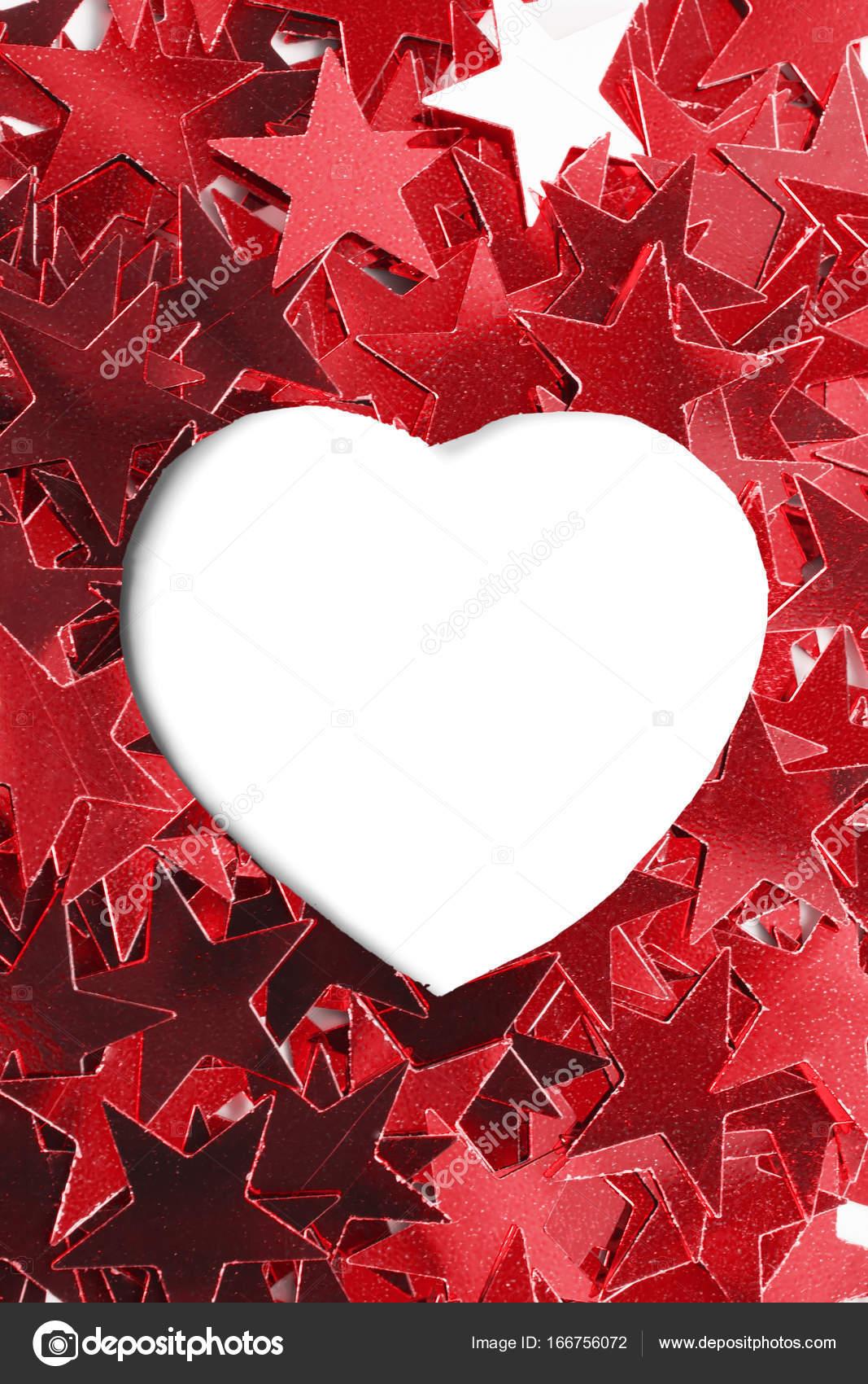 Blank heart frame — Stock Photo © Tarzhanova #166756072