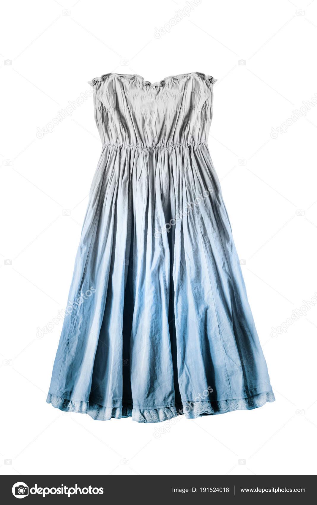 Trägerlosen Kleid isoliert — Stockfoto © Tarzhanova #191524018