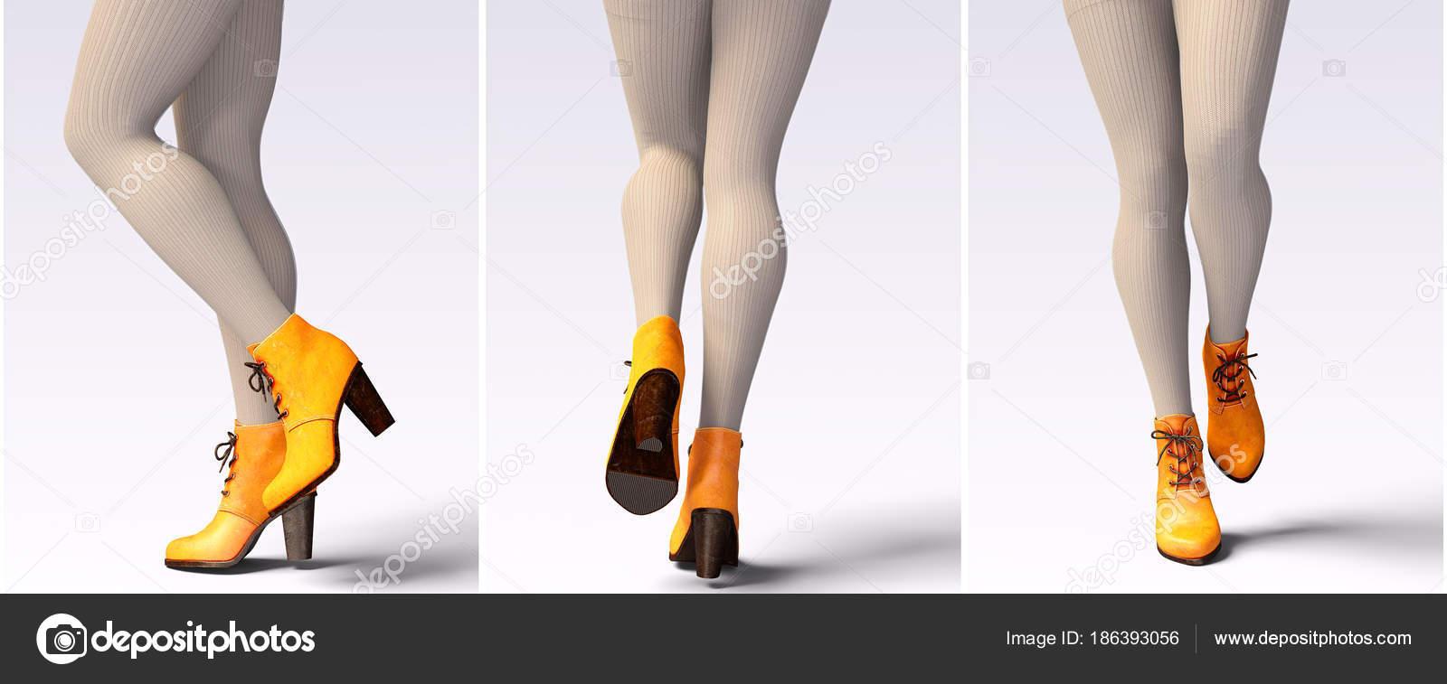 68b64c185fb Ορίστε Όμορφα Γυναικεία Πόδια Μάλλινα Κολάν Και Μισό Χάντρες Σέξι —  Φωτογραφία Αρχείου