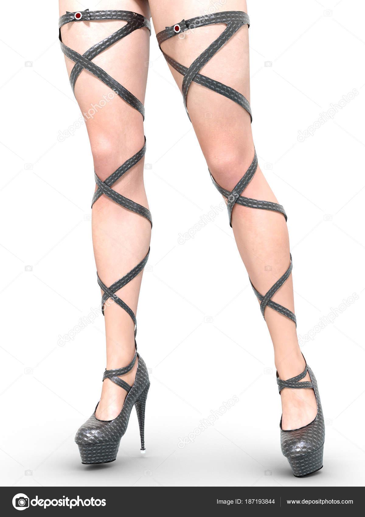 Jambes Féminines Belles Sandales Femmes Talons Hauts Minces fv7bgIyY6m