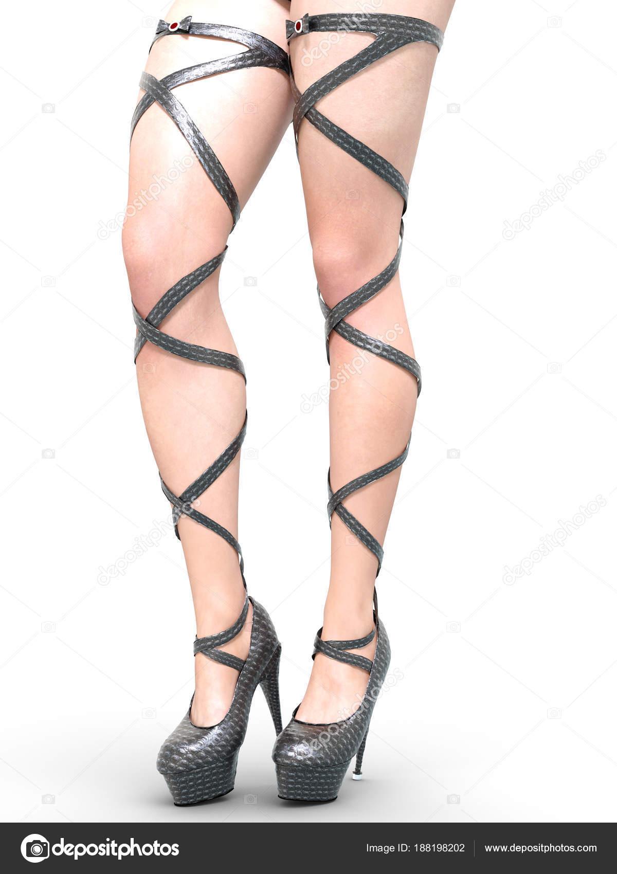 Сексуальные ножки на каблуках