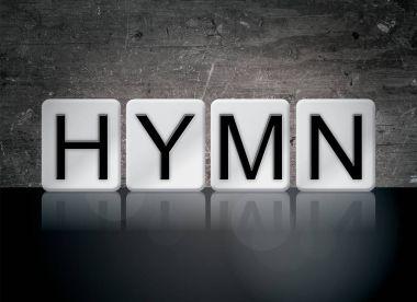 Hymn Concept Tiled Word