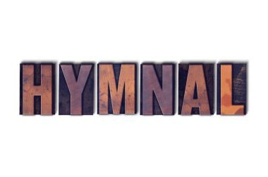 Hymnal Concept Isolated Letterpress Word