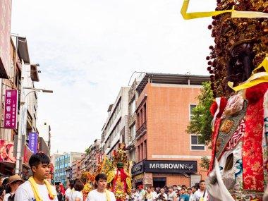 Culture Festival of Tamsui Shing Shuei Yan in Taipei, Taiwan