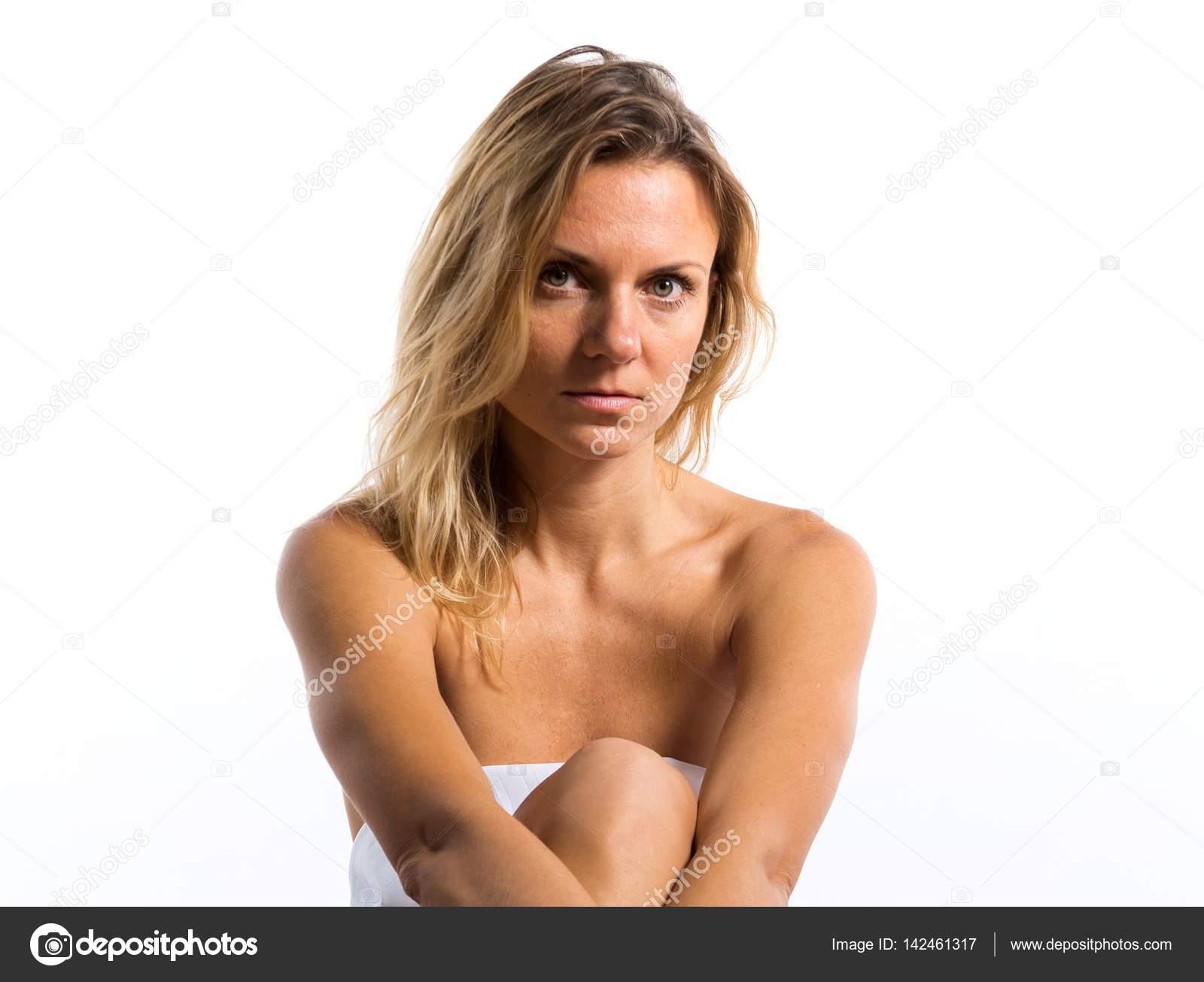 nackt blonde