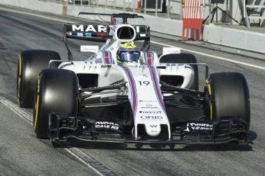 Driver Felipe Massa.  Team Williams
