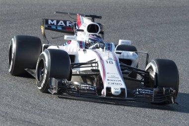Driver Lance Stroll.  Team Williams