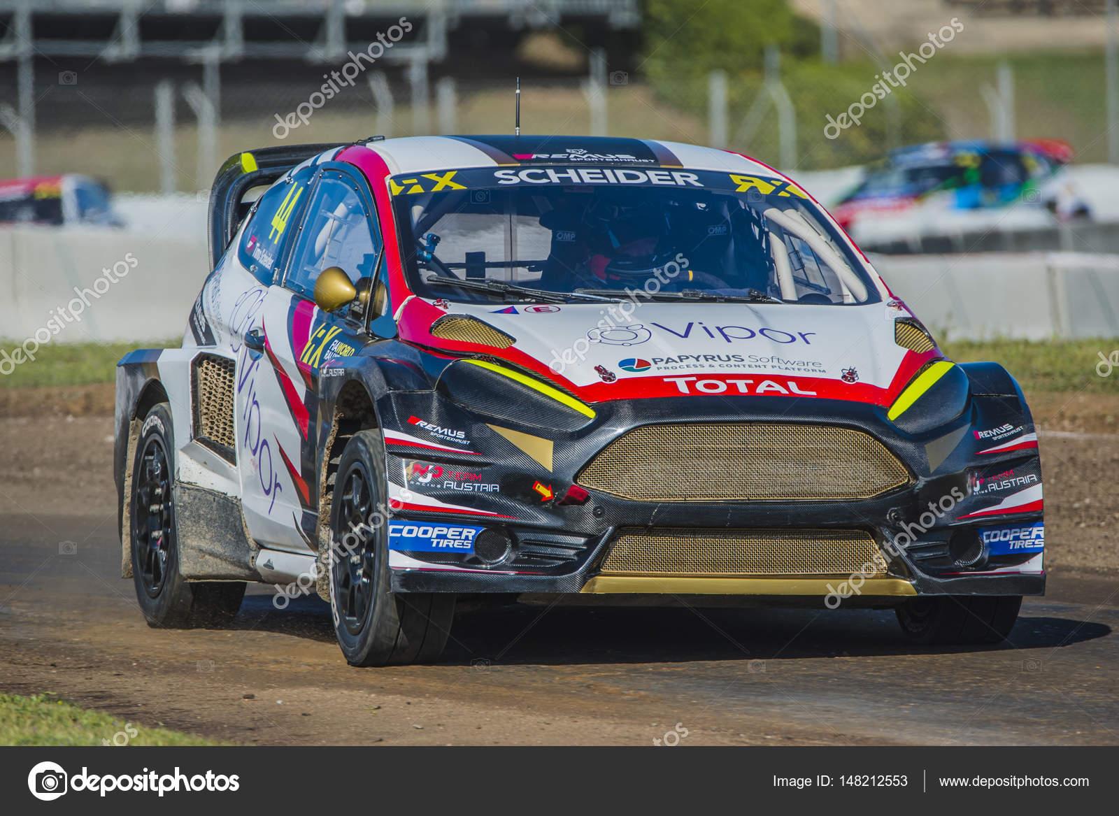 Timo Scheider. Barcelona FIA World Rallycross – Stock Editorial ...