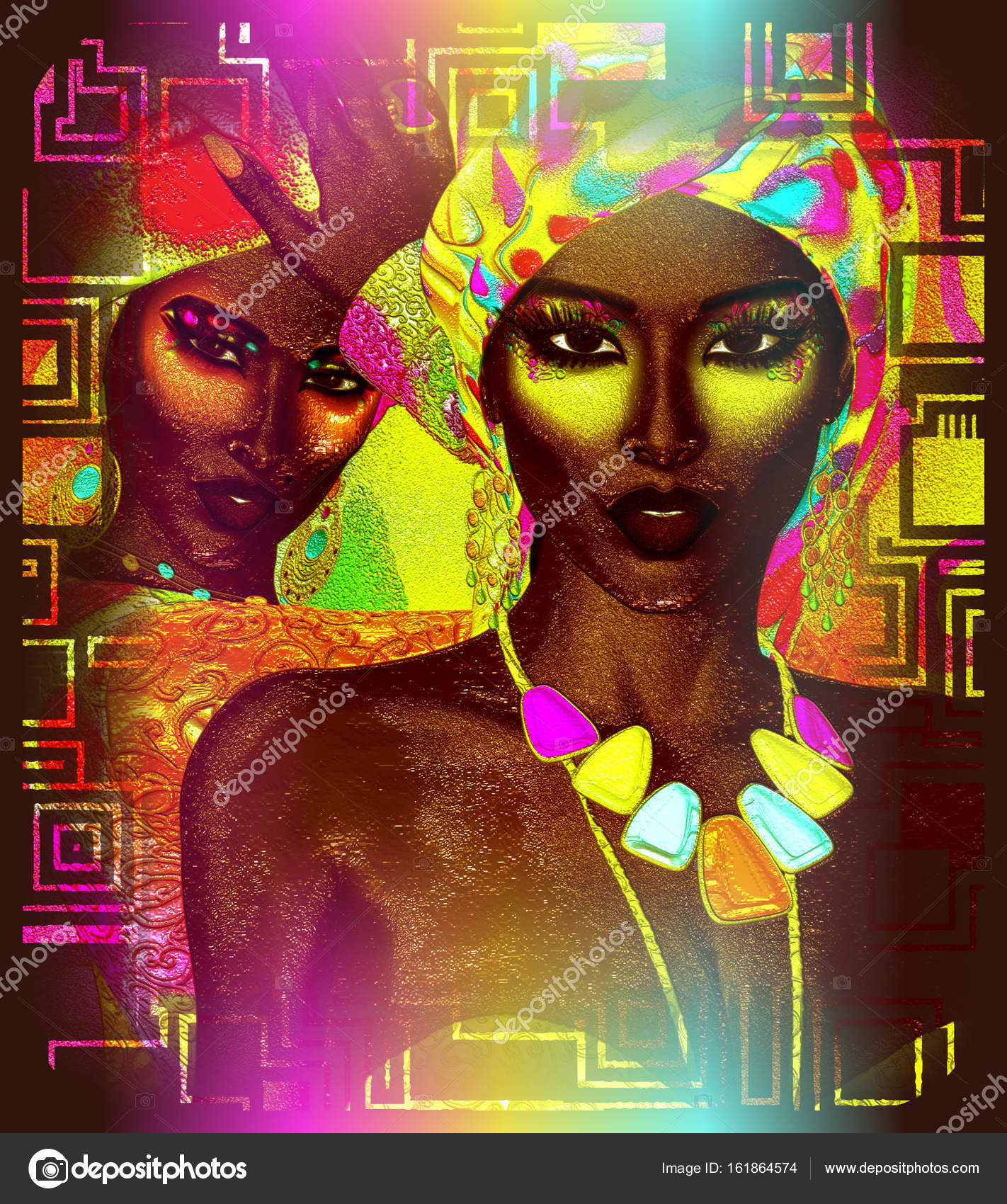 African art Beautiful